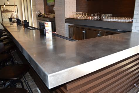 Ideas For Kitchen Countertops And Backsplashes - stainless steel countertops custom metal home