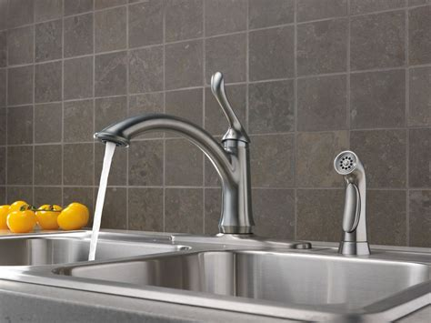 delta linden faucet 4453 ss dst faucet 4453 ar dst in arctic stainless by delta