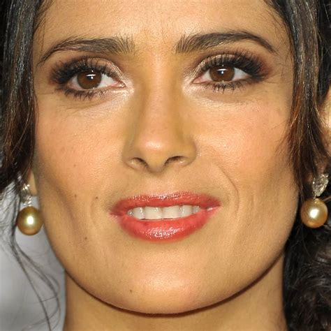 salma hayek  oscars makeup celebrity makeup   oscars  popsugar beauty photo