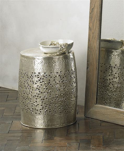 metal garden stool objects of design 155 lombok stool mad about the house