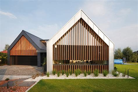 inspiring barn homes designs photo two barns house inspiring contemporary home in poland