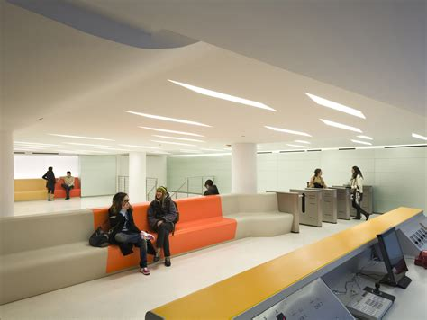 The New School, Lobby and Student Lounge – 1100 Architect