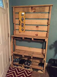 shoe rack o 1001 pallets With best brand of paint for kitchen cabinets with how to make candle holders out of wood
