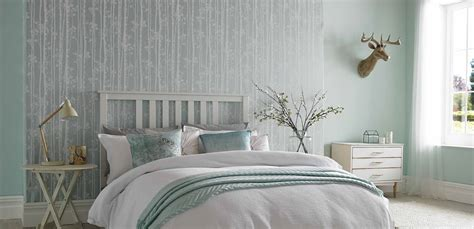 Blue Bedroom Wallpaper by Bedroom Wallpaper Wall Decor Ideas For Bedrooms