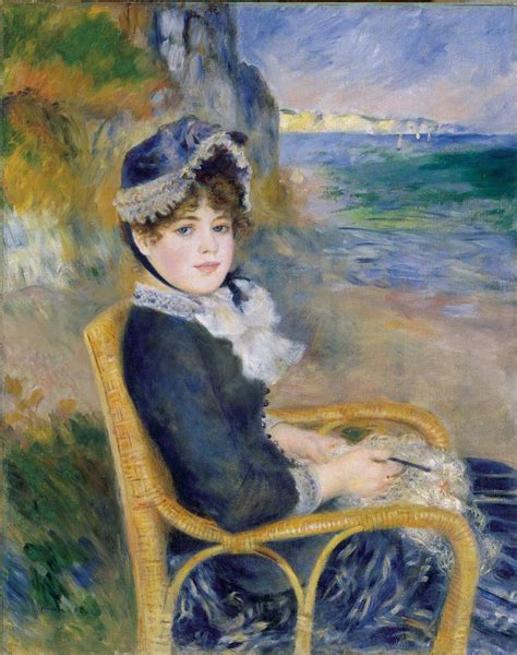 By The Seashore By Renoir Facts And History Of The Painting