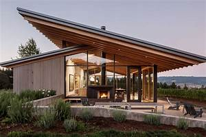 Wine Tasting Room Goes Sleek And Minimalist In Oregon