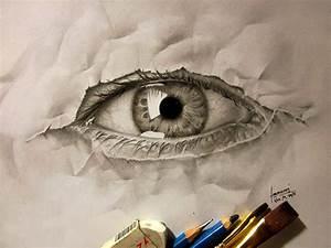3D Pencil Illustrations Express The Struggle Between My ...