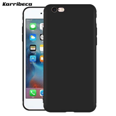 buy matte silicone case  iphone   funda carcasa hoesje kilifi solid color