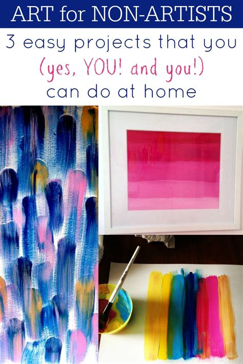 remodelaholic art   artists  diy art projects