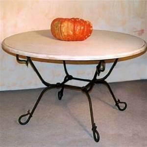 Table Exterieur Ronde : table exterieur fer forge maison design ~ Teatrodelosmanantiales.com Idées de Décoration