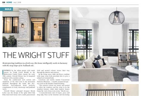 wright stuff oswald homes