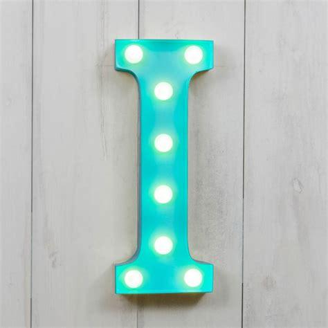 small light up letters i vegas metal 11 quot mini led letter lights light up
