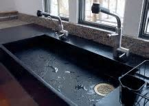 Get Stoned: 11 Incredible Kitchen Sinks Made from Rock