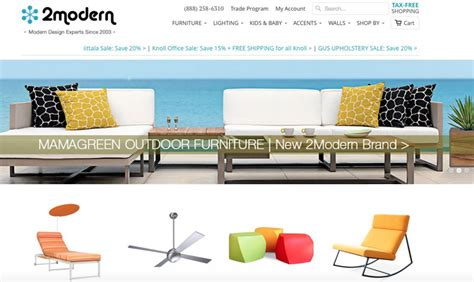 Best Online Furniture Stores  Freshome Shopping Guide