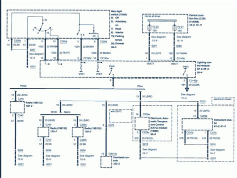 Wiring Diagrams For Ford Crown Victoria Forums