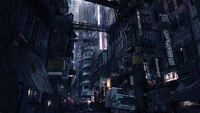 Wallpapers Concept Futuristic Cyberpunk Backgrounds Syndicate Future