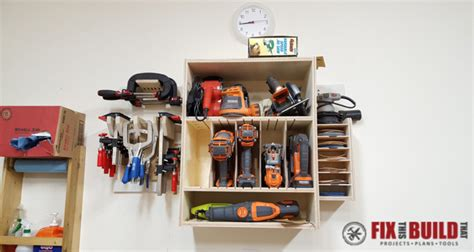 french cleat tool storage system fixthisbuildthat