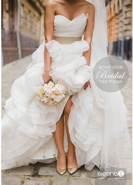 natural beautiful bridal tan   big day