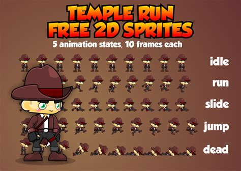 temple run  sprite opengameartorg