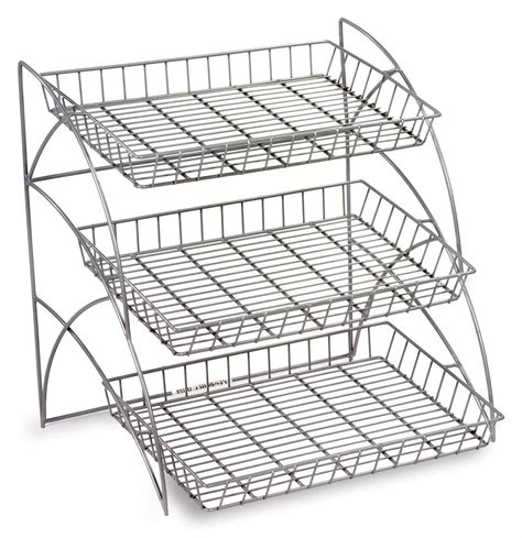 3 Shelf Wire Shelving Racks  Countertop & Retail