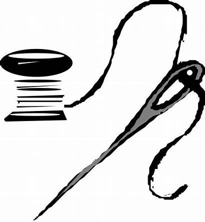 Needle Clip Thread Clipart Onlinelabels Please