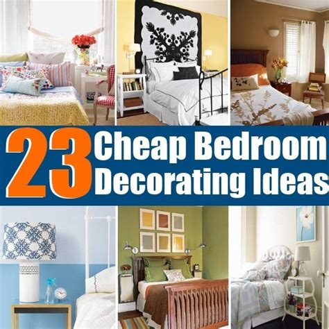 Diy Bedroom Decorating Ideas On A Budget by 23 Cheap And Easy Bedroom Decorating Ideas Diy Home Things