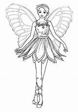 Coloring Fairy Wings Fantasy Cartoon Drawing Pair Barbie Pages Princess Pencil Ballerina Coloringsky Sketch Print Printable Disney Getdrawings sketch template