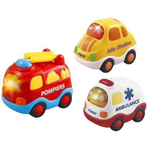 bebe siege auto jouets d 39 éveil bébé voiture tut tut bolides pompiers