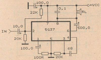Power Amplifier Audio Schematic Diy