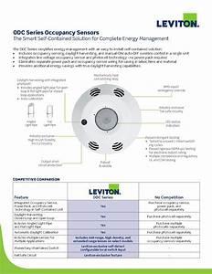 Leviton Odc Line Voltage Integrated Occupancy Sensors