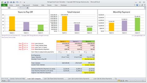 excel mortgage calculator spreadsheet home loans