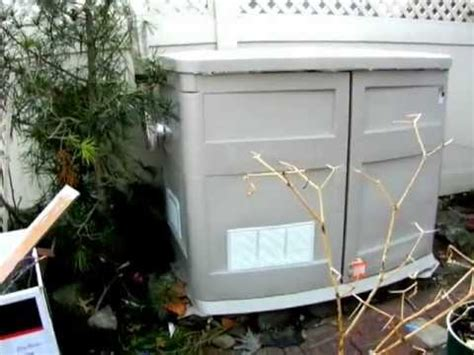 home  portable generator shelter dyi youtube