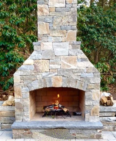 outdoor fireplace kit contractor series  easy