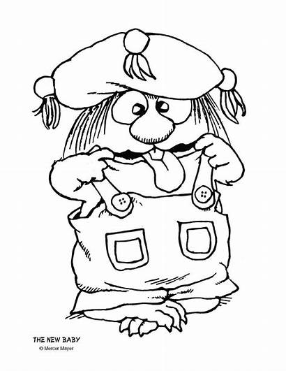Mercer Critter Mayer Coloring Pages Books Preschool