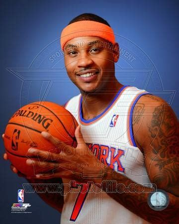 NBA New York Knicks Carmelo Anthony 2013-14 Posed Photo at ...