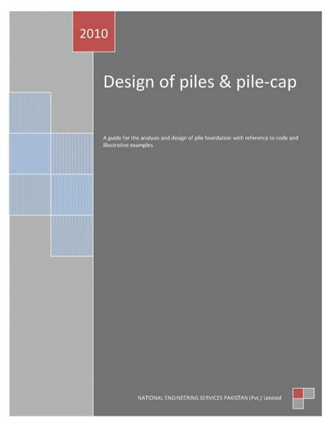 Design Guide by Pile Design Guide Collected