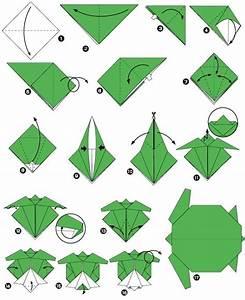Origami Animaux Facile Gratuit : fiche origami poisson naturel ~ Dode.kayakingforconservation.com Idées de Décoration