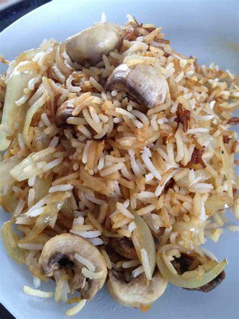 riz cuisine poêlée riz et chignons et sa cuisine gourmande