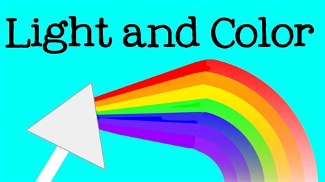 color science the science of light and color for rainbows and the