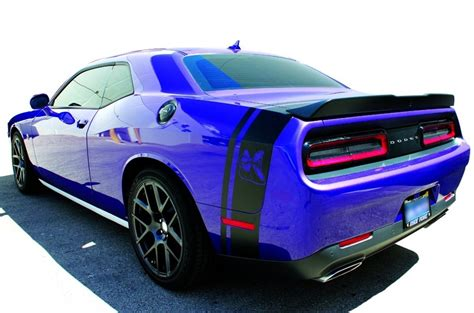 product dodge challenger side  tail band scat pack hellcat super bee decal sticker graphics