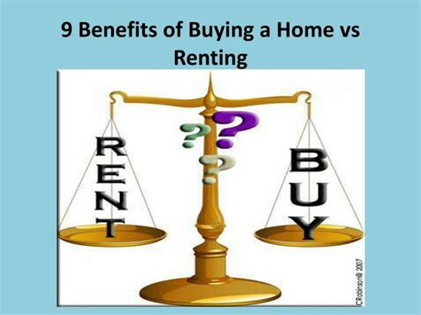benefits of buying an home ppt buying vs renting powerpoint presentation id 2629929