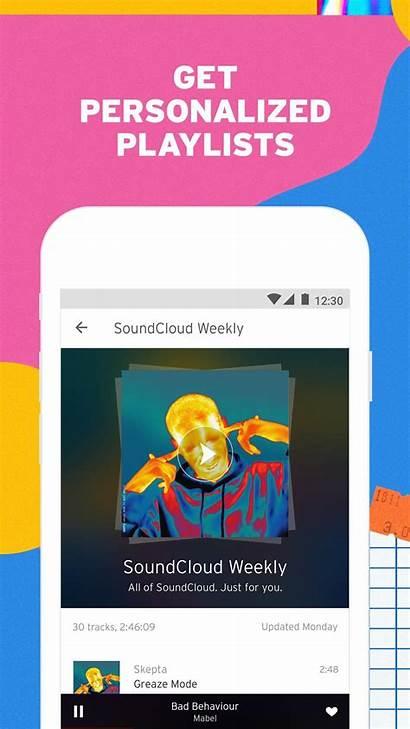 Soundcloud Android Cloud Sound Sounds Apps Discover