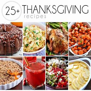 25+ Recipes for Thanksgiving Wishes and Dishes