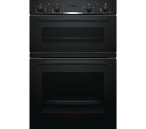 Buy BOSCH MBS533BB0B Electric Double Oven  Black Free