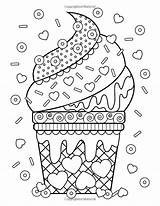 Coloring Pages Unhealthy Printable Junk Getcolorings Hair Crazy Colorings sketch template