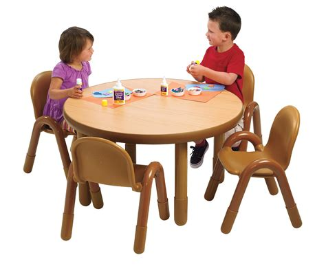baseline 174 preschool 36 quot diameter table amp chair set 812 | AB74920NW1