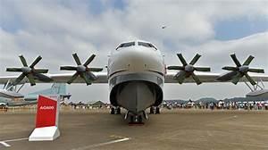 China's First Homegrown Amphibious Aircraft Makes Maiden ...