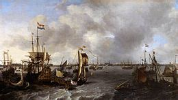 Boats And Hoes In Spanish by Ludolf Bakhuizen Wikipedia