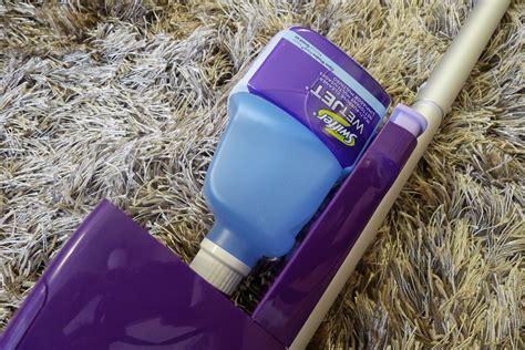easy breezy cleaning   swiffer wetjet tina villa