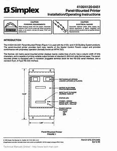 Simplex 4020 Wiring Diagram